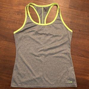 Champion Gray/Lime Green Tank